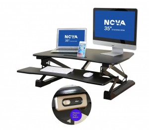 Standing Desk / Stand for Desk / Electronic Standing Desk (MS-203E)